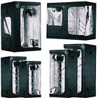*PLANT HOUSE* UPGRADED Grow Tents - Hydroponic Plant Indoor Small&Big - 6 SIZES