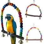 Pet Swing Bird Toy Harness Cage Hang Parakeet Cockatiel Budgie Parrot Rope US