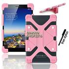 """Shockproof Silicone Stand Cover Case For Various 7"""" 8"""" AINOL Novo Tablet +Stylus"""