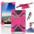 "Shockproof Silicone Stand Cover Case For Various 7"" 8"" Huawei MediaPad/Honor Pad"