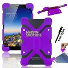 "Shockproof Silicone Stand Cover Case For Various 7"" Toshiba Tablet + Stylus"