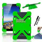 """Shockproof Silicone Stand Cover Case For Various 7"""" Toshiba Tablet + Stylus"""