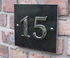 Modern Contemporary Large House Numbers 1-99 (Slate Granite and Sandstone)