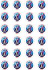 24 x PERSONALISED PRECUT THE GREATEST SHOWMAN RICE/WAFER PAPER CUP CAKE TOPPERS