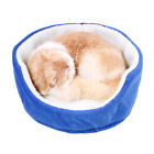 Small Pet Cat Bed Puppy Cushion House Pet Soft Warm Kennel Dog Mat Blanket House