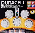 SEALED! Duracell Capstone LED Puck Lights with Directional Base, 5 Count