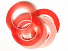 Lot 25M Red Film 3M Transparent Double Sided Sticker Adhesive Tape Cell Phone