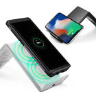 Wireless Charger Spigen [F303W] Charging Stand For iPhone X,Galaxy 8 White/Black