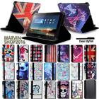 "For Various 8"" Huawei MediaPad Tablet - FOLIO LEATHER STAND CASE COVER + Stylus"