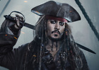JACK SPARROW PIRATES OF THE CARIBBEAN DEAD MEN TELL NO TALES 2017 POSTER