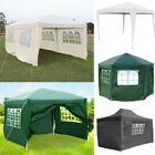 Large Pop Up Gazebos Marquee Steel Tubes Outdoor Garden Party Tent Canopy Shades