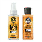 Complete Leather Care Cleaning Kit Home Car Cleaner Conditioner pH Balanced x2