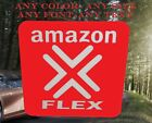 AMAZON FLEX Delivery sticker decal sign door window glass car ubers quality