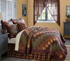 HERITAGE FARMS QUILT SET -choose size & accessories- Primitive Check VHC Brands image