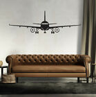 132*42cm Airplane Decor Plane Vinyl Wall Sticker Decal Art Bedroom Aircraft Rt