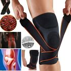 Strap 3D Weaving Pressurization Brace Knee Professional Protective Relief Injury