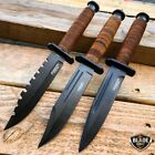 "9"" Tactical Military Survival Camping Fixed BLADE Fishing Hunting Knife Bowie"