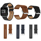 Replacement Soft Leather Bracelet Wrist Band Strap For Fitbit Versa Smart Watch image