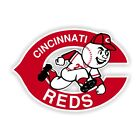 Cincinnati Reds Decal / Sticker Die cut