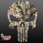 "Punisher ""Woods Camo"" Sticker - Window Car Truck Bumper Vinyl Decal #FS2019"