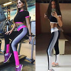 Women Fitness Yoga Leggings Running Gym Sports High Waist Pants Trousers Hot