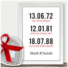 Personalised Gifts for 30th Pearl Wedding Anniversary Couples Memorable Dates