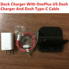 OnePlus 6 5T 5 3 Dash Charging Dock Official Wall Fast Charger Type-C Data Cable