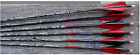 "MAXIMA HUNTER ARROWS 5"" STRAIGHT FEATHER NOCKS INSERTS CARBON EXPRESS CUT FREE"