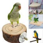 Pet Parrot Wood Platform Stand Rack Toy Branch Perches For Bird Cage