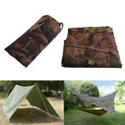 Camo Waterproof Camping Hiking Tent Tarp Canopy Awning Mat Rain Cover Shelter
