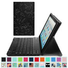 For Amazon Fire 7 / HD 8 / HD 10 7th Gen 2017 Tablet Keyboard Case Cover Stand