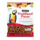 Large Parrot Bird Pet Food Seeds Fruit Blend Natural Flavors Vitamins Minerals