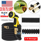 3X Stronger Deluxe 25-100 FT Expandable Flexible Garden Wate