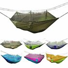 Camping Hammock Rusee Mosquito Net Outdoor Travel Bed Lightweight Fabric Summer