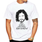 Game of Thrones Cotton T Shirt For Men Cool with The North Remembers Blood Print