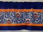 "New York Mets MLB Baseball Orange Custom Valance Choose:40"", 52"",80"" W x 13"" L on Ebay"