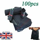 Strong Black Plastic Mailing Postal Poly Postage Packing Posting Bags ALL SIZE