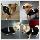 Boy Dog Clothing Puppy Vest Pet Clothes SECURITY for chihuahua yorkie maltese