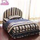 3 Pieces Small Dog Bed House Set Pet Cat Luxury Princess Sofa Bed Kennel Chihuah