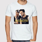Luis Fonsi Despacito Latin Pop Singer Men's White T-Shirt Size S to 3XL