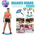 New Simply Fit Twist Balance Board As Seen on TV Yoga Exercise Workout w/ Bands