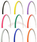 "NEW! Bicycle DURO Tire 27"" x 1"" Bike TlRE Solid Colors Slick Cycling Cruiser"