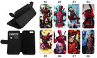 Deadpool 2 Thano Leather Phone case iPhone X 7 Plus XR 11 pro XS MAX KickStand