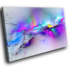 ZAB968 Retro Colourful Cool Modern Canvas Abstract Home Wall Art Picture Prints