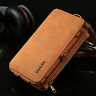 remove iphone cover - Remove Leather Zipper Handbag Multi-function Case Cover For iPhone X/8/7/6s Plus