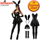 K588 Ladies Playboy Bunny Rabbit Fancy Dress Hens Night Party Halloween Costume