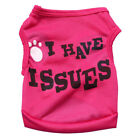 XS/S/M/L Girl Dog Clothes Female Pet Puppy Vest T Shirt Apparel Costume Summer