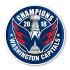 Washington Capitals 2018 Stanley Cup Champions Round Decal / Sticker Die cut (B) $3.49 USD on eBay