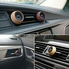 Car Fragrance Diffuser Air Vent Freshener Clip-on Wooden Oil Diffuser Y7r4