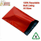 RED Mail Postal Packing Bags 4x6  6x9  10x14 12x16  14x20  17x22  22x30 Poly